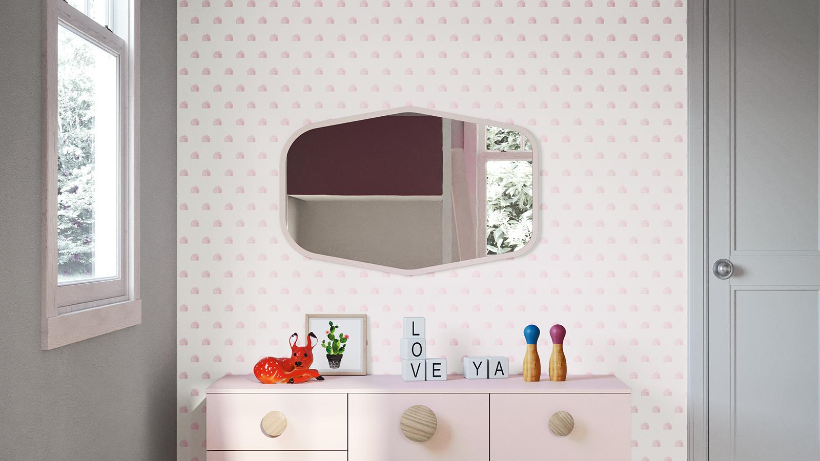 Specchi per camerette per bambini e ragazzi nidi - Specchi per camerette ...