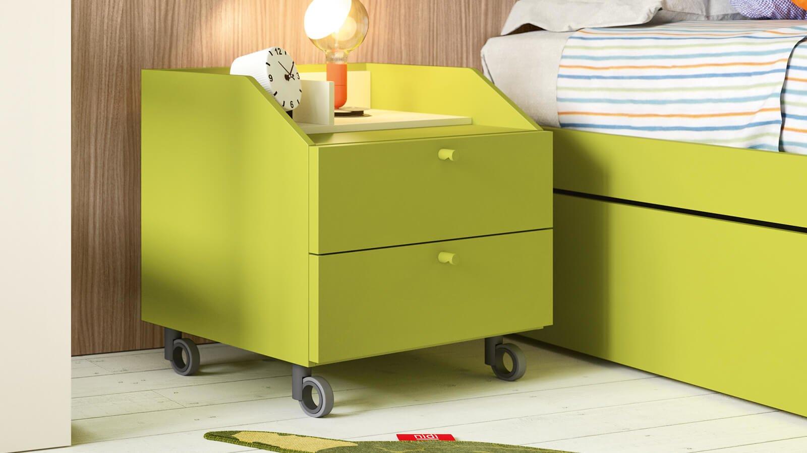 Cassettiere e contenitori su ruote per bambini nidi