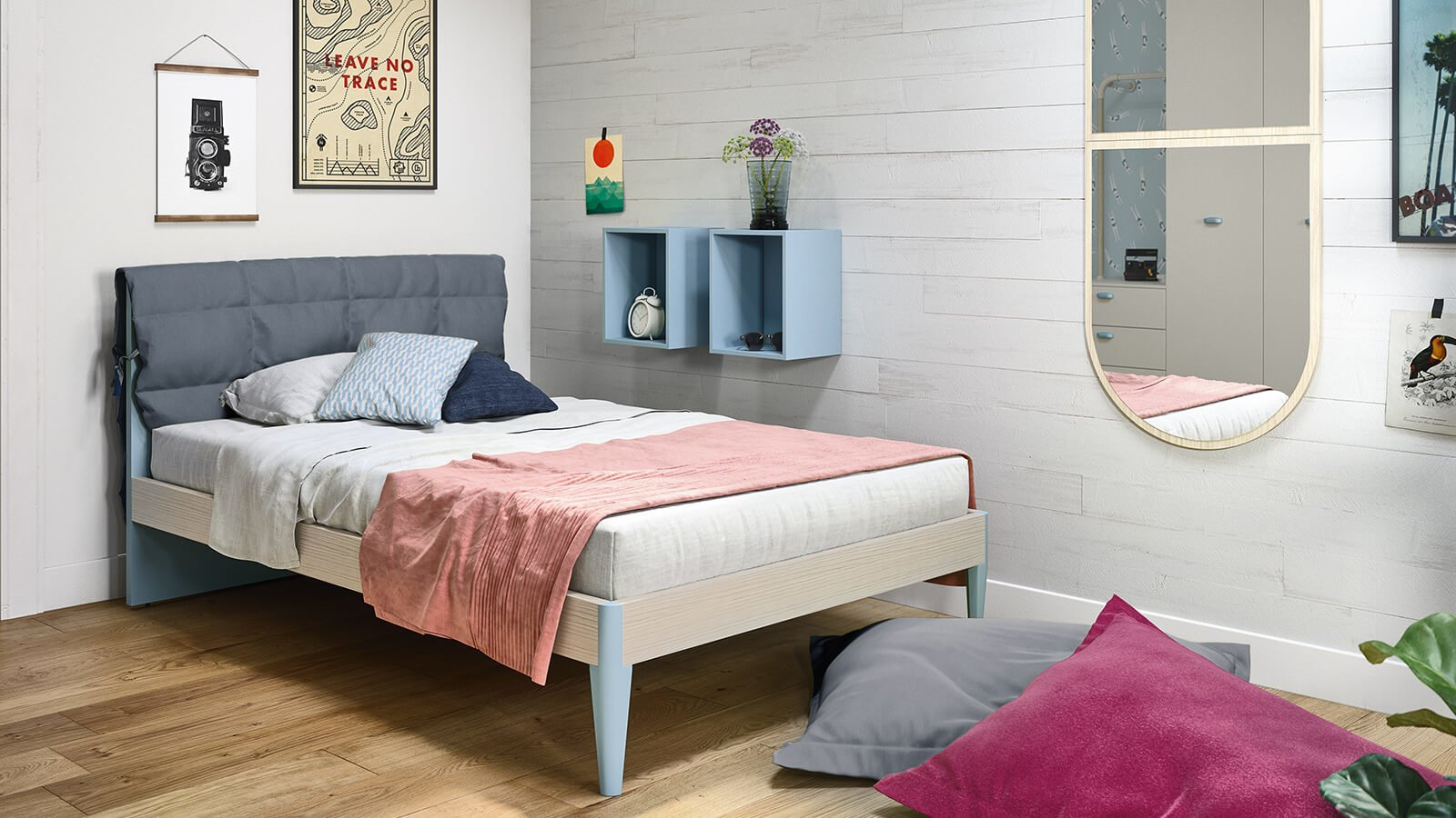 Dino Wall Stickers Single Beds For Kids And Teens Nidi