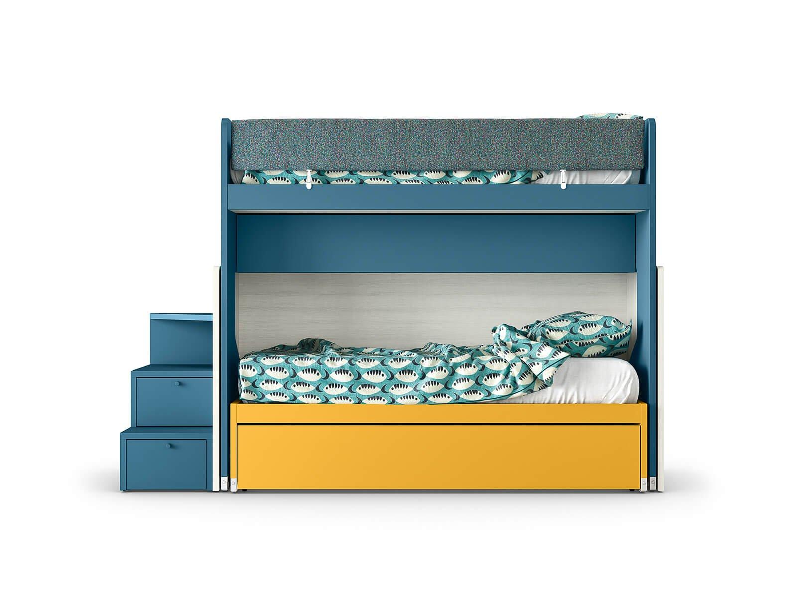 SLOT sliding bunk bed