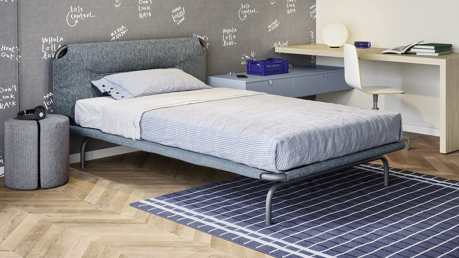 Tube Single Bed