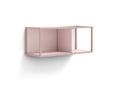 Boxy wall unit
