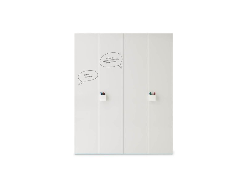 Wardrobe with Graphic hinged door