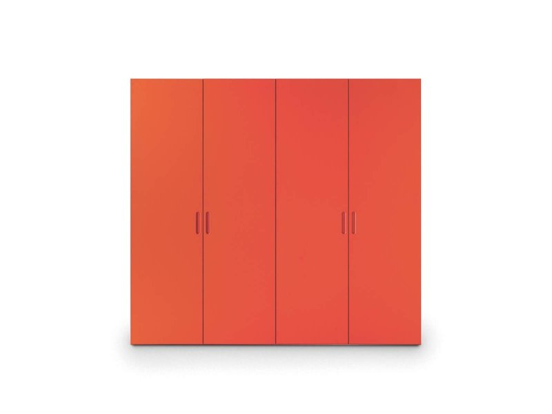 Wardrobe with Nit hinged door