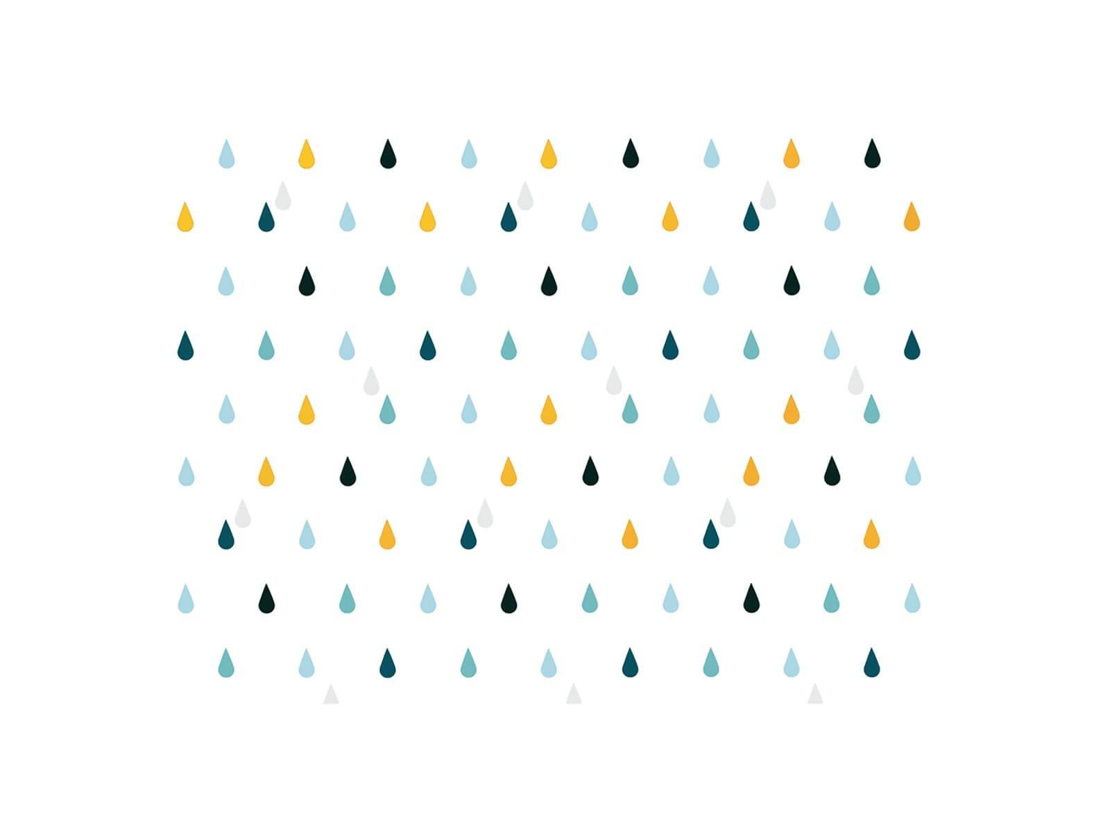 Carta da parati Rain