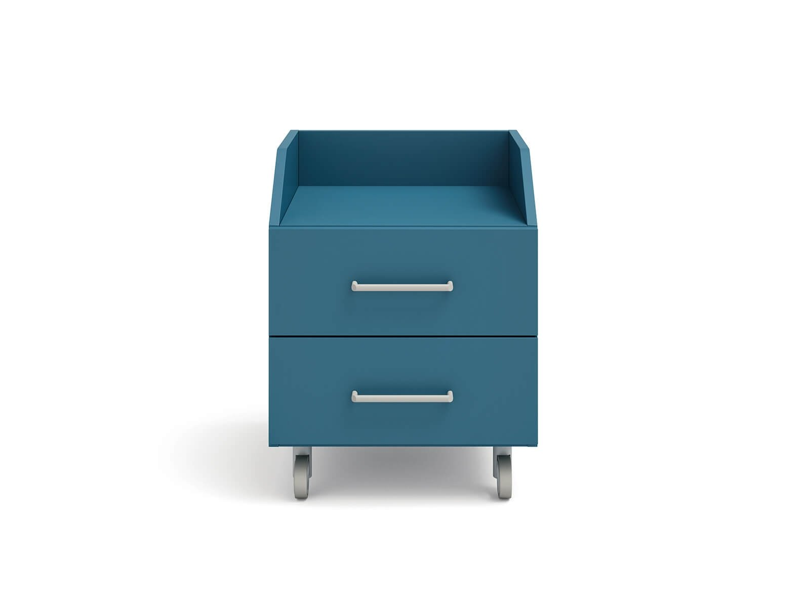 Wilson bedside table on castors
