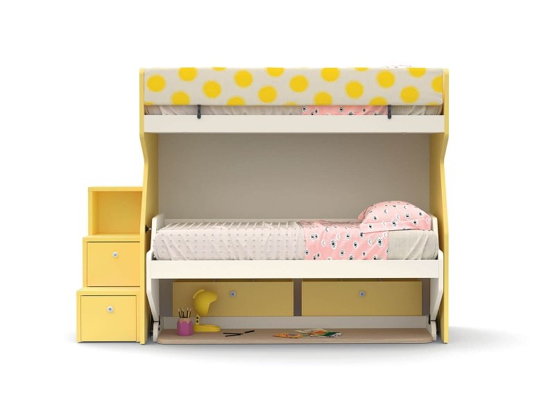 Tippy bunk bed