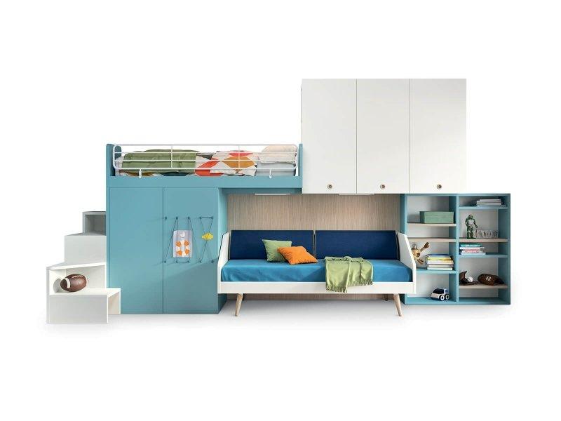 Lits Mezzanine Pour Enfants Et Adolescents Nidi