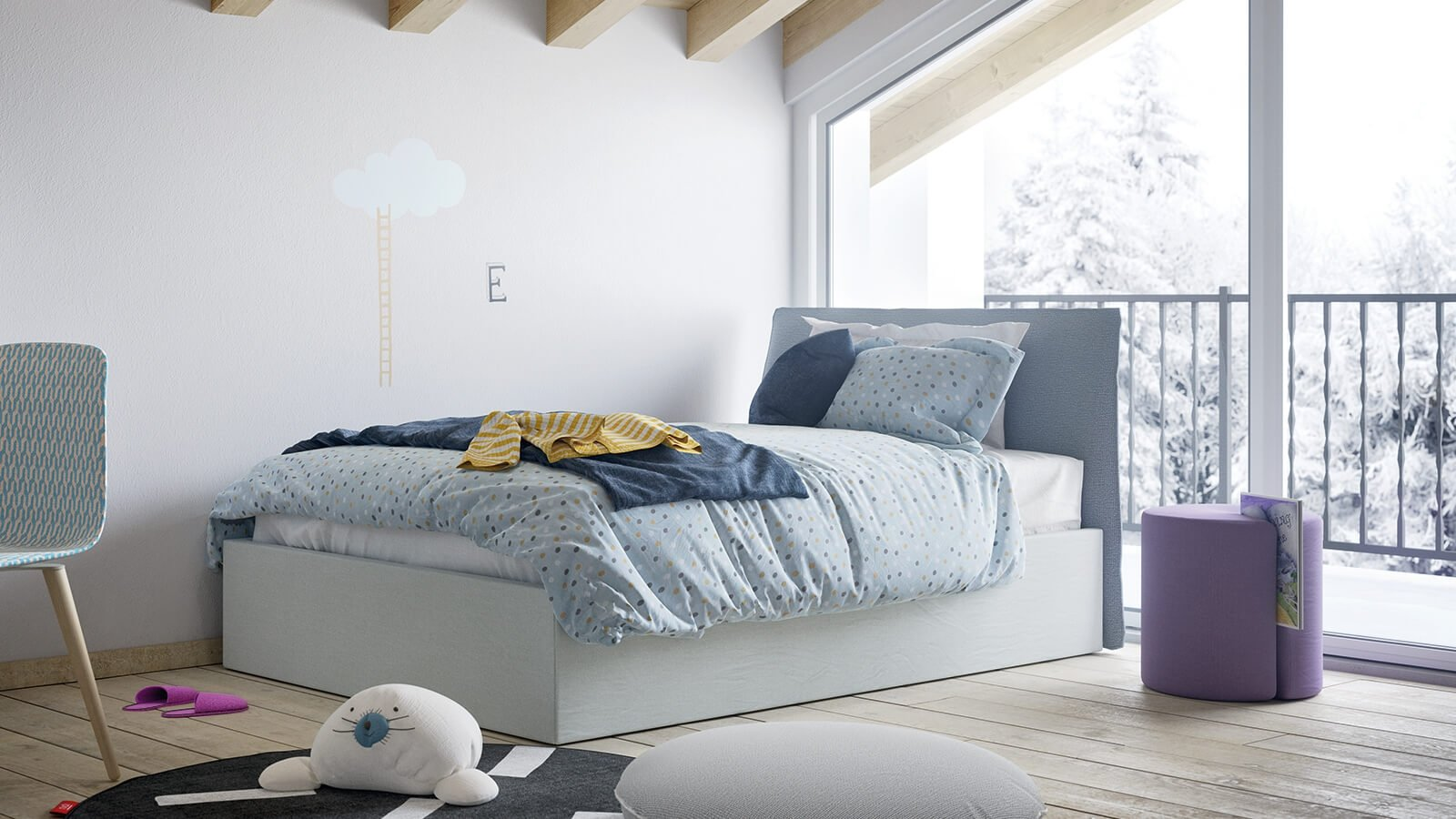 Flare single bed