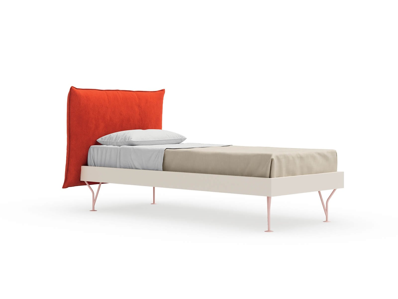 Pillow single bed