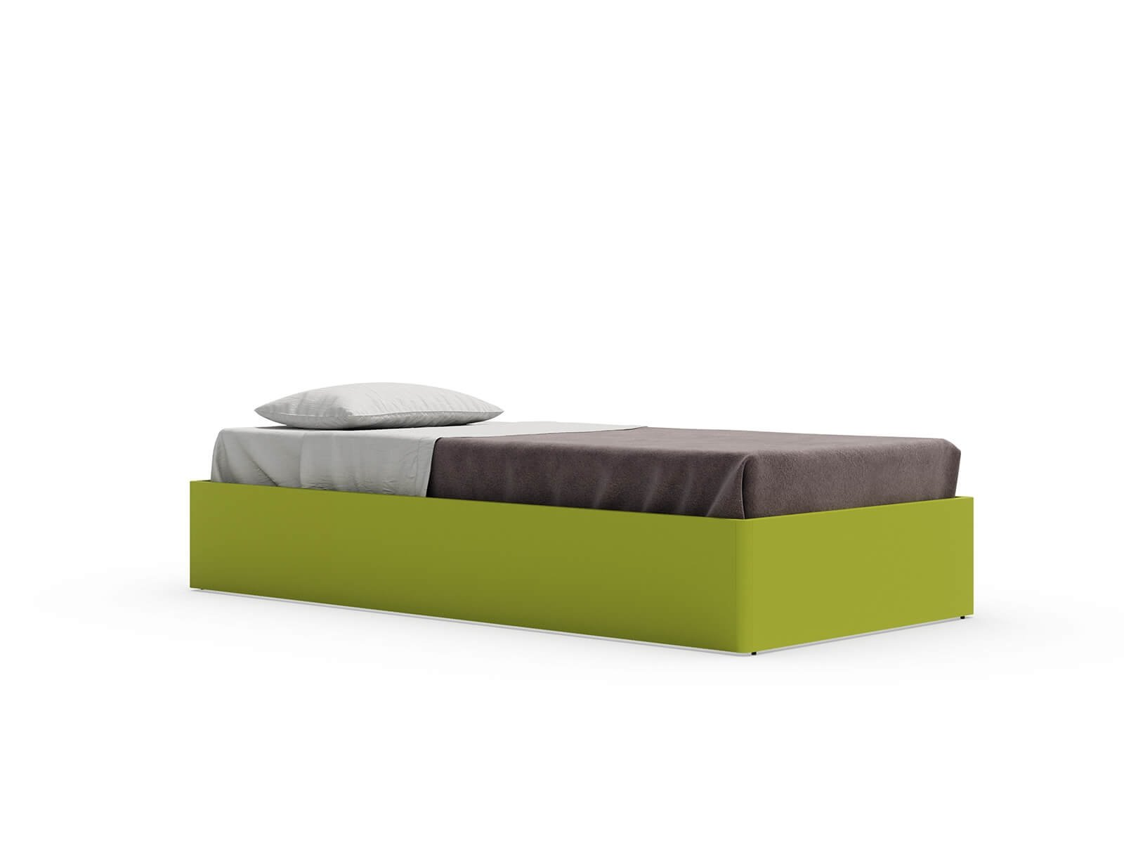 Letto singolo sommier