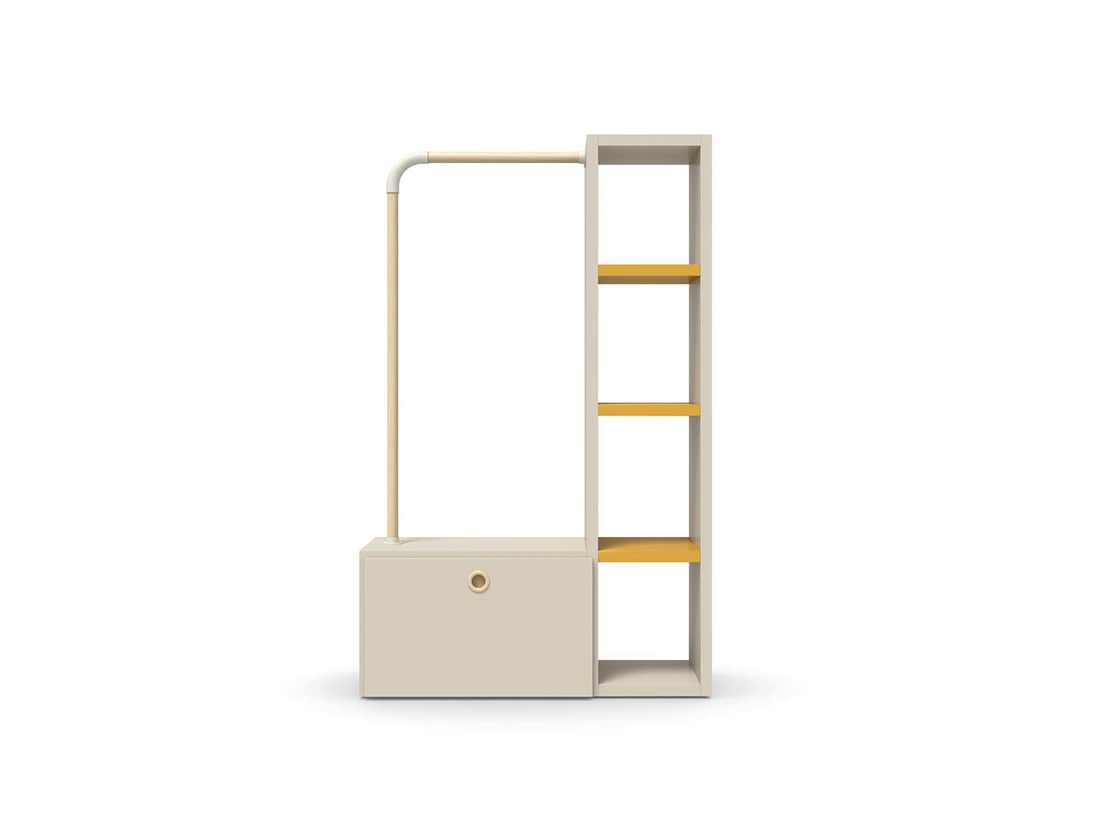 Loop system with bookcase