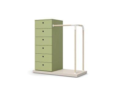 Banc Loop avec tiroirs
