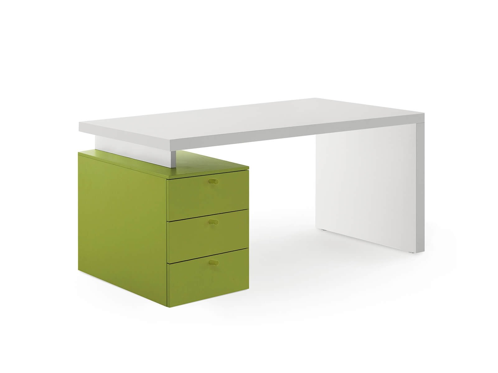 Desk with drawer unit