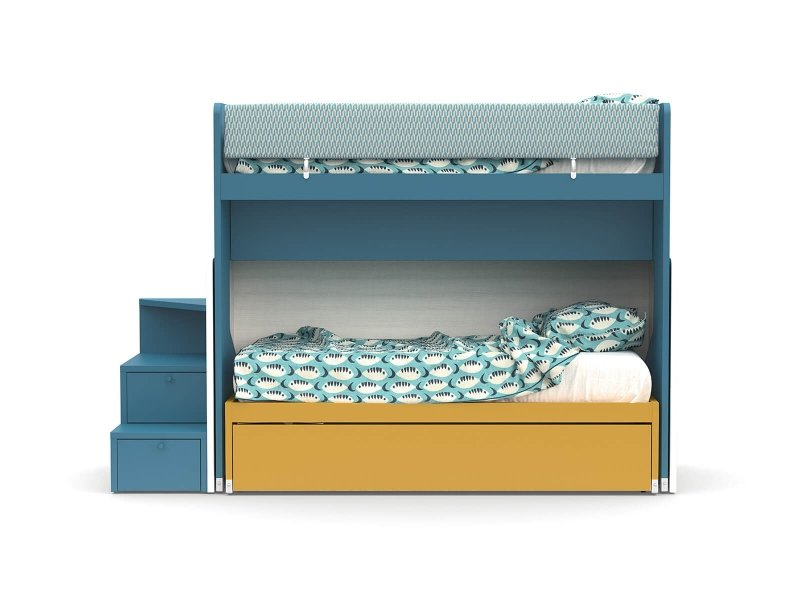 SLOT sliding bunk bed