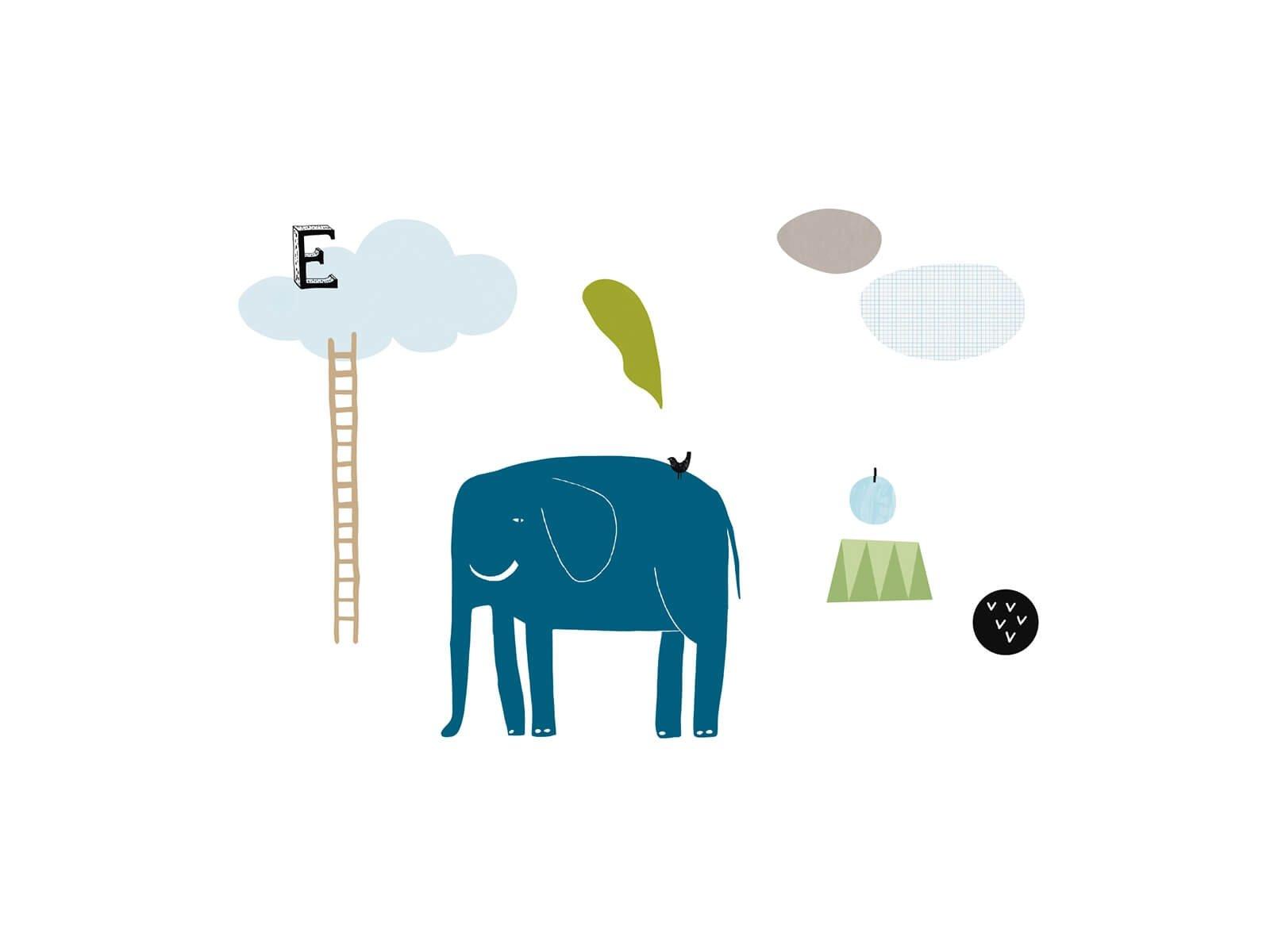 Sticker Elephant