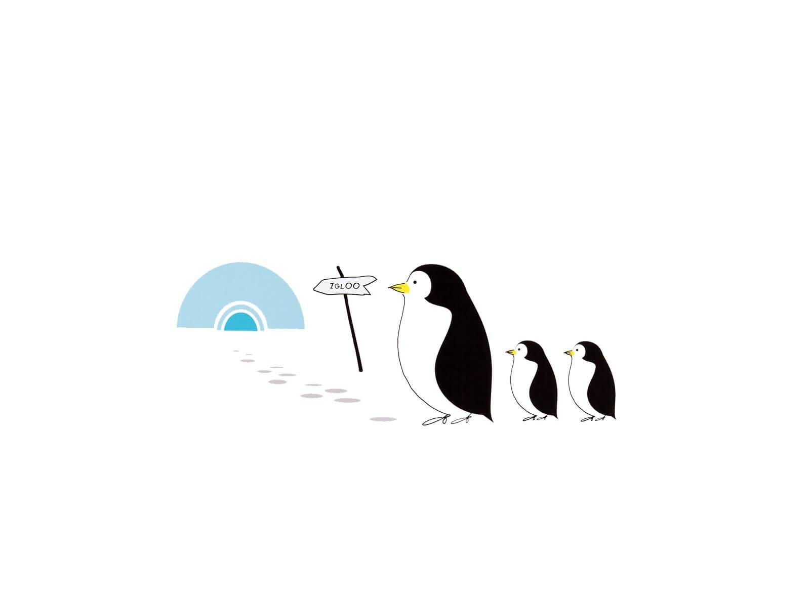 Sticker Penguin