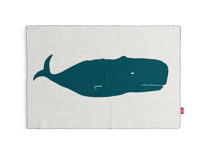 Tappeto Whale
