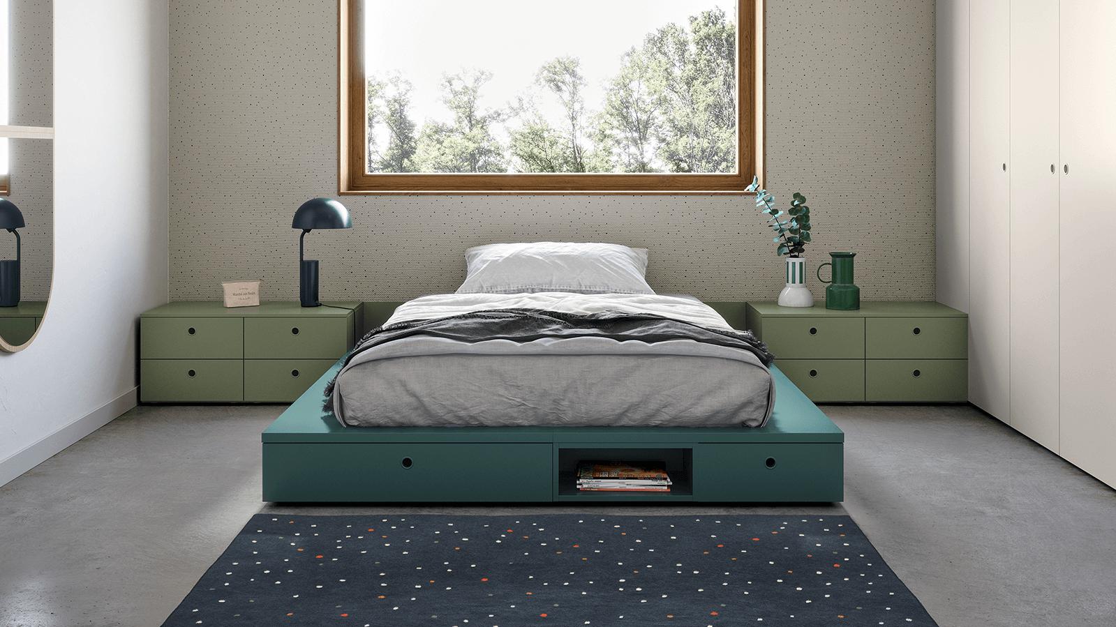 Cameretta Con Due Letti Battistella.Nidi Bedroom Furniture For Kids And Teens