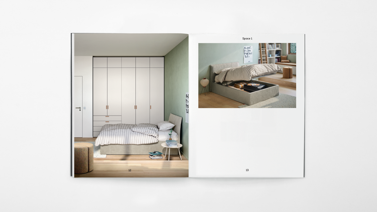 Out now: the new Next catalogue showcasing bedroom solutions for young adults!